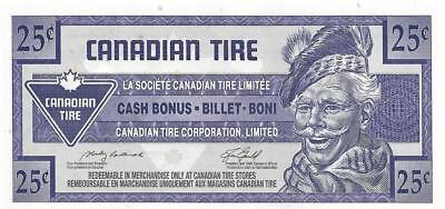 CANADIAN TIRE 2006 - 25 Cent Coupon (S28-D06); Mint - FREE SHIPPING Canada & USA