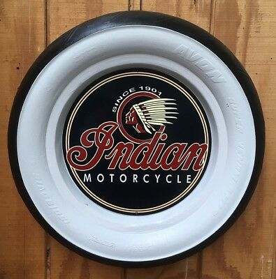 NEW Indian Motorcycle Tyre sign