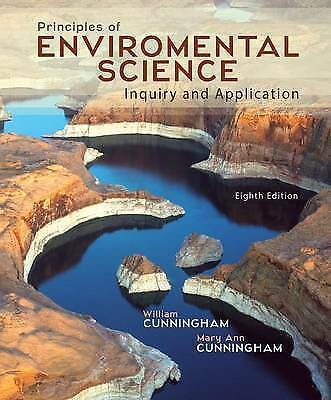 Principles of Environmental Science by William Cunningham (Paperback / softback,