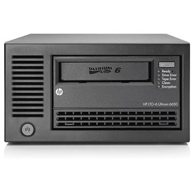 HPE StoreEver LTO-6 Ultrium 6650 SAS External Tape Drive (EH964A) - 684884-001