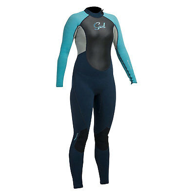 Réponse Gul Womens 3 / 2Mm Steamer Wetsuit 2017 - Marine Turquoise