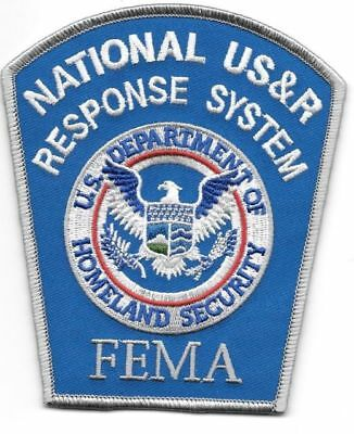 FEMA, NATIONAL URBAN SEARCH & RESCUE RESPONSE SYSTEM USAR PATCH, Brand new.