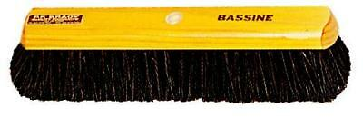 Broom Premier Hair Mix Varnished Timber Stock 45cm Head Only