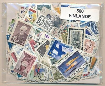 Finland Parcel service 500 stamps different