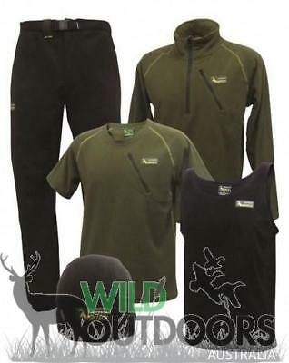 Huntech - Bush Basic Fleece Pack - Black & Green