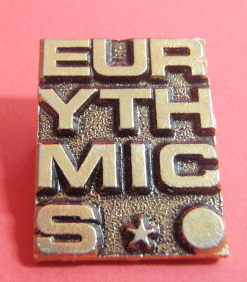 Badge / Pin : EURYTHMICS : Used