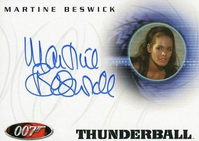 James Bond A31 The Quotable James Bond Martine Beswick Autograph Card