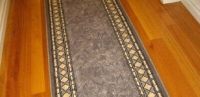 Hallway Runner Hall Runner Rug Modern Grey 5 Metres Long We Can Cut To Any Size!