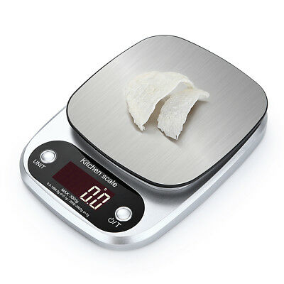 Digital Scale 3kg/0.1g 10Kg/1g Kitchen Scale Scale Balance Weigher Electronic TT