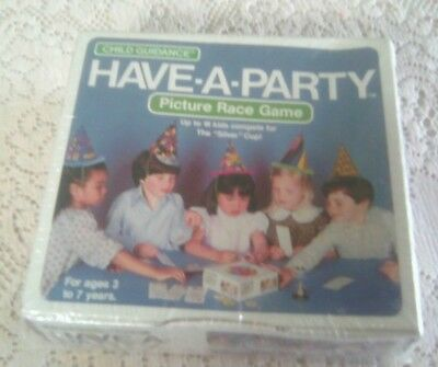 HAVE*A*PARTY Picture Race Game  (VINTAGE GAME 1979)