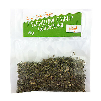 Premium Organic Catnip by The Lazy cat