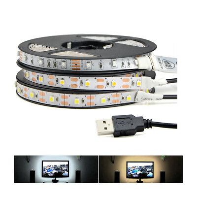 LED Strip 5050 RGB Lights 12V Flexible Home Decorations Lighting Power Saving
