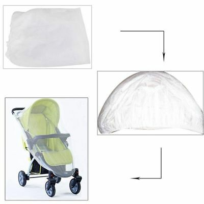 Infant Stroller Mosquito Net Buggy Pram Protector Pushchair Fly Insect Bug Cover