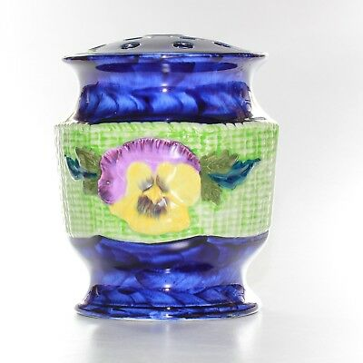 Maling Ringtons Pansy Vase With Flower Frog.
