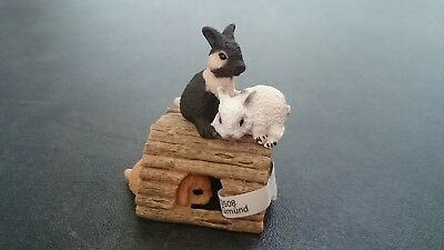 Schleich Pets Model 13748 Baby Rabbits Playing