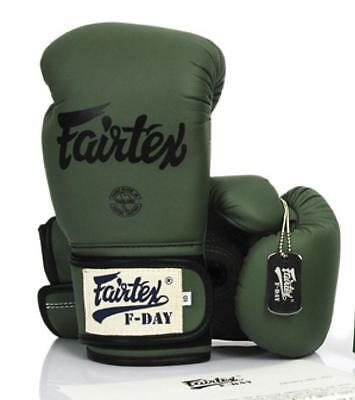 FAIRTEX BGV-11 F-DAY MUAY THAI BOXING GLOVES MMA 8 10 12 14 16 oz AUTHENTIC NEW