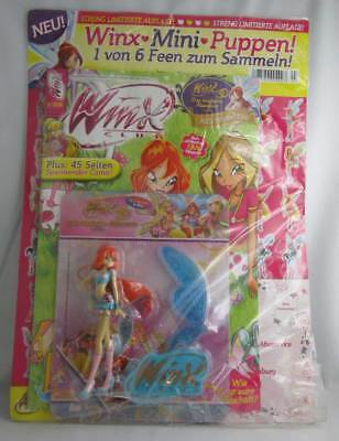 z  WINX CLUB BELIEVIX BLOOM Mini-Puppe mit Magazin 3/2011 *NEU