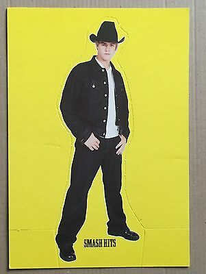 AARON CARTER ?? Small Smash Hits Standee