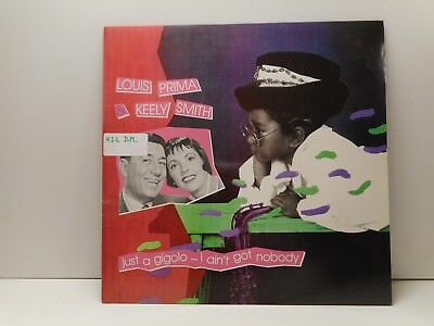 Louis Prima With Keely Smith – Just A Gigolo - I Ain't G  Maxi Single Promo 21