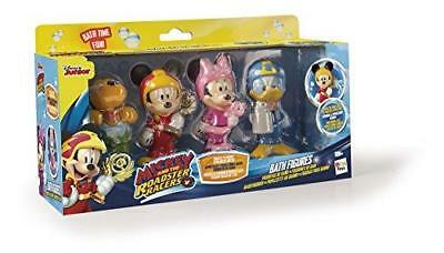 NEW Disney Mickey Mouse and the Roadster Racers Bath Toy Figures (Pack of 4)