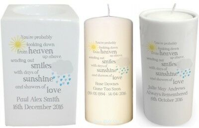 Personalised SHOWERS OF LOVE Childrens MEMORIAL Bereavement REMEMBRANCE Gift