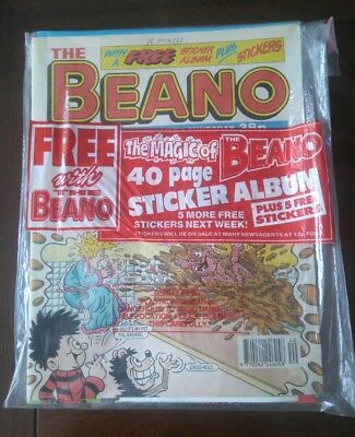 The BEANO No.2725 Comic + Include Free Gift - Oct 8th - 1994 - D.C.Thomson & Co