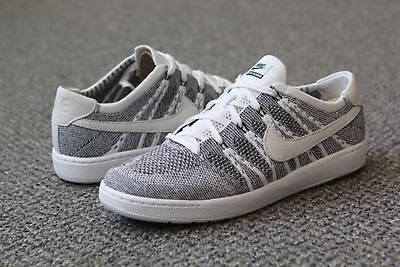 pretty nice 1de39 dac01 830704-100 Nike Men Tennis Classic Ultra Flyknit Shoe white black