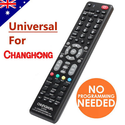 Changhong Universal Smart TV Remote Control NO PROGRAMMING For 3D LCD LED HD TVs
