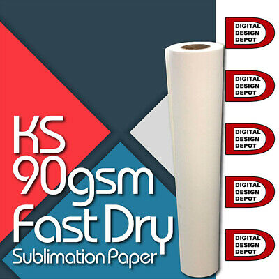 """Sublimation Heat Transfer Paper Roll for mugs/cloths - 44"""" x 328 ft """""""