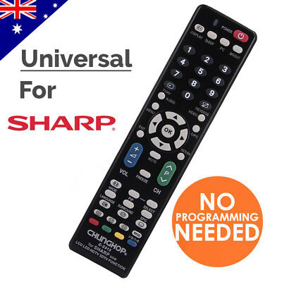 Universal TV Remote Control Replacement For Sharp LCD LED 3D HD TV Controller
