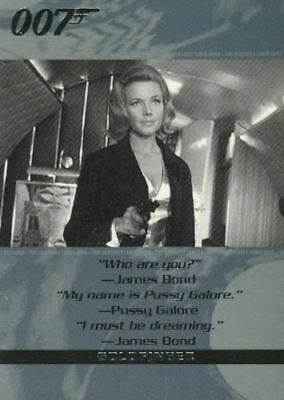 James Bond The Quotable James Bond Promo Card NSU1