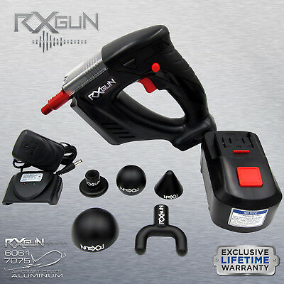 RxGUN V2 Percussion Massager Deep Muscle Stimulation Vibration Recovery Device
