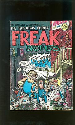 Fabulous Furry Freak Brothers #1 - Rip Off Press - Later Printing