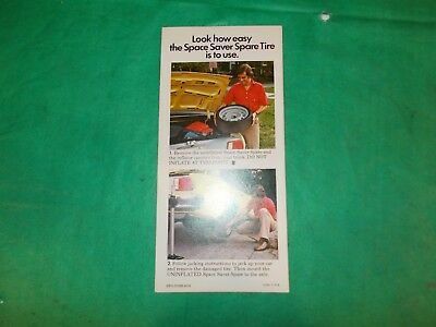 1976 B.f.goodrich Advertisement Brochure!! Super Information!!