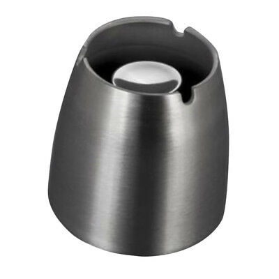 Stainless Steel Ashtray Smoking Holder Windproof Ash Tray Cigar Ashtray L