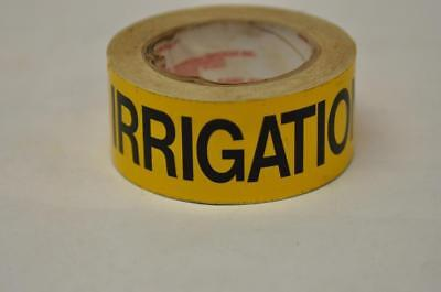 (1) Roll Seton MSI Pipe Marker Labels IRRIGATION Yellow Steam Punk FAST! D3