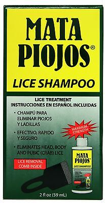 New Head Hair Genital Pubic Body Lice Crabs Nits Cure Remedy Treatment Shampoo