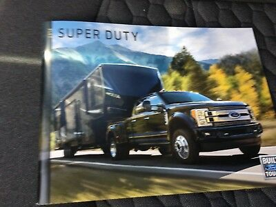 2018 FORD SUPER DUTY 56-page Original Sales Brochure