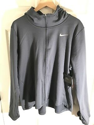64b766e3c16 New Nike Women s Dri-Fit Running Training Hoodie Jacket 1X Plus Size  75msrp
