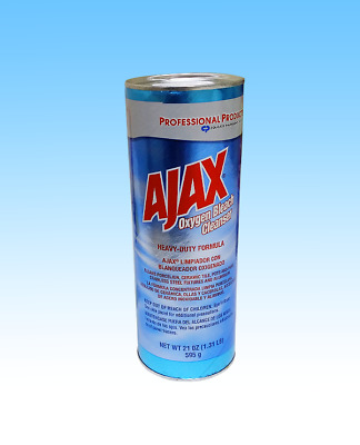 Genuine 21-oz. Ajax Heavy-Duty Oxygen Bleach Powder, 24 Cans ///301900EA