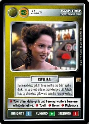 Star Trek Lightly Played Rules of Acquisition STCCG Decipher 1E Hagath
