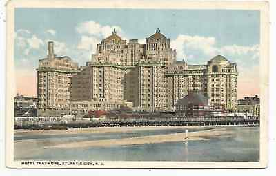 Hotel Traymore, Atlantic City, New Jersey, 1930's Post Card