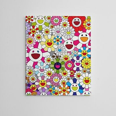 Takashi Murakami Flowers in Heaven Smiley Faces Gallery Art Canvas Complexcon