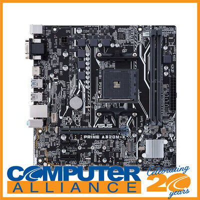 ASUS AM4 MicroATX Prime A320M-K Motherboard