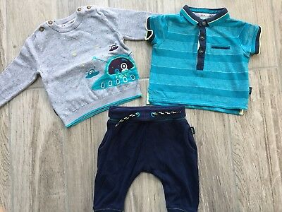 baby boys ted baker 3-6 months - Jumper, Tshirt, Trousers