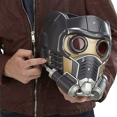 Marvel Legends Guardians Galaxy Star-Lord Electronic Helmet Cosplay Gift X'mas