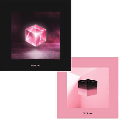 BLACKPINK SQUARE UP 1st Mini Album RANDOM Ver CD+FotoBuch+Lyrics+3p Karte SEALED