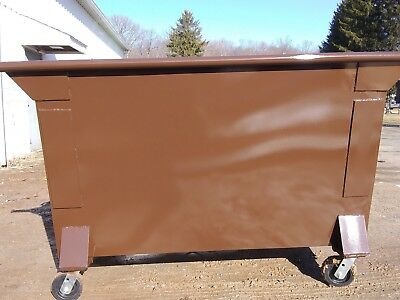 new front and rear load dumpsters and construction refuse boxes
