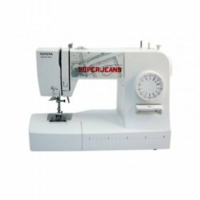 Toyota Sewing machine SUPERJ15W White, Number of stitches 15, Number of butto...