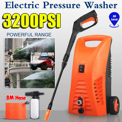3200 PSI Electric High Pressure Cleaner Washer Water Hose Garden Gun Pump Gurney